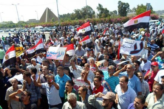 Small turnout in Egypt anti-Morsi rallies