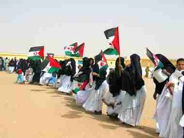 Rights observers visit W. Sahara amid UN envoy row
