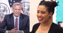 New York mayor says he is 'proud' of daughter arrested in protests