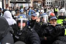 Police arrest more than 100 after London Black Lives Matter protests