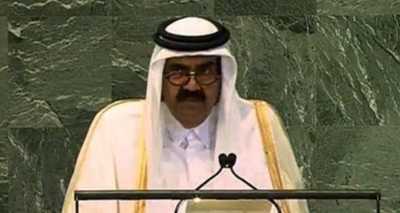 Qatar calls for Arab intervention in Syria