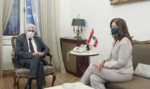 Lebanese foreign minister meets US ambassador after Hezbollah remarks