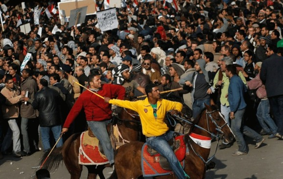 Mubarak-era chiefs acquitted of camel assault on protesters