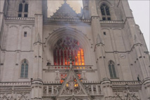 Major fire at Nantes cathedral under control; pipe organ destroyed