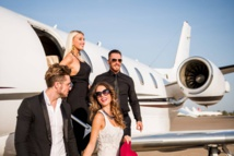 The rich are flying again — in the comfort of their private jets
