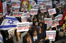 Police arrest 12 protesters against Israel's Benjamin Netanyhu