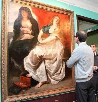 'Original Rubens' found in obscure Russian museum