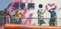 Italy offers partial help to Banksy-sponsored migrant rescue ship