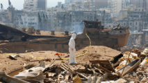 Rescue teams search Beirut rubble after sign of life detected