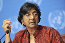 UN's Pillay pushes for war crimes probe in Syria