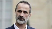 Syria opposition chief laments Damascus refusal to talk