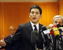 Ex-British foreign secretary Miliband quits politics