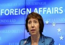 EU's Ashton urges Morsi release as loyalists rally