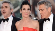 Bullock called space, Clooney did yoga for 'Gravity'