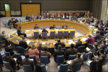 UN Security Council powers hold Syria resolution talks