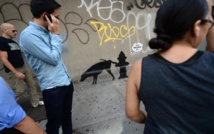 Security tight after Banksy graffiti woes
