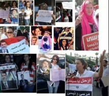 Hundreds in Egypt mark anniversary of army protests