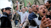 Egypt bails 23 secular protesters held over disputed law