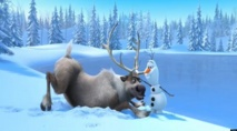 'Frozen' warms up North American movie-goers