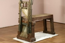 Guillotine used for resistance siblings 'found in Germany'