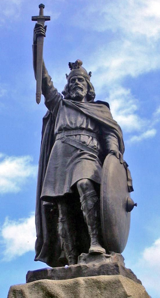 Source: Odejea, http://en.wikipedia.org/wiki/File:Statue_d%27Alfred_le_Grand_à_Winchester.jpg