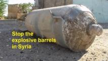 Syria barrel bomb raids on Aleppo kill 20: NGO