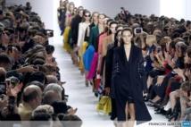 Power dressing for 'warrior' women at Paris fashion