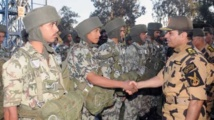 Egypt's Sisi in UAE for joint military exercises
