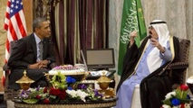 Obama in Saudi for talks overshadowed by mistrust