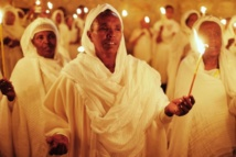 Christians mark Holy Fire rite on eve of Easter