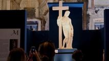 Michelangelo show in Rome lauds 'universal artist'