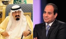 Saudi king meets Egypt's Sisi in Cairo