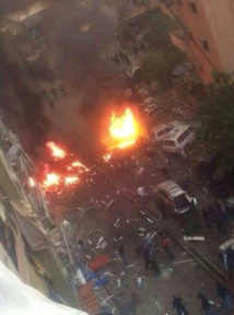 12 injured in suicide car bombing in Beirut suburb