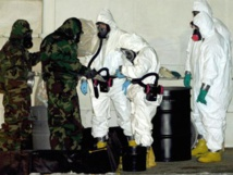 Transfer of Syrian chemical weapons complete: Pentagon