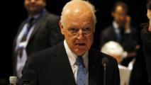 De Mistura succeeds Brahimi as UN envoy for Syria