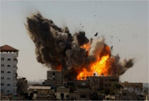 Gaza toll exceeds 850 as conflict rages on: medics