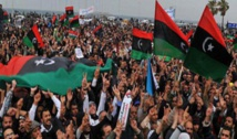 Libya guards fire warning shots as crowd tries to storm border