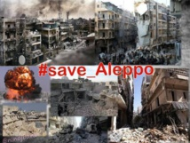 Syrian children 'torn apart' as 16 killed in Aleppo violence