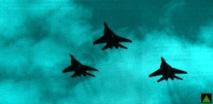 Saudi, UAE, US aircraft strike IS in Syria