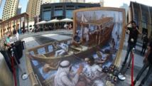 Dubai launches region's first 3-D pavement art festival