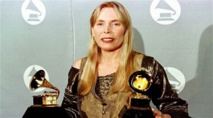 Singer Joni Mitchell hospitalized in US
