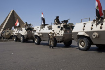 Egypt says after deadly blast that 'terror' chief shot