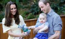 Toddler Prince George prepares to share the spotlight