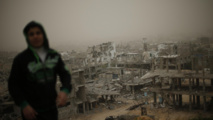 Blast, fierce clashes rock Syrian regime Aleppo base
