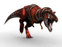 T.Rex's 'bizarre' vegetarian cousin puzzles scientists