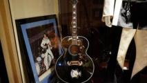 Beatles guitar headlines NY music auction