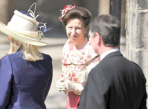 Princess Anne marks moment Britain heard of Waterloo victory