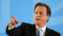 Britain's Cameron attacks extreme conspiracy theories