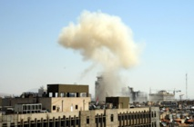 Russian embassy 'shelled' amid Syria build-up fears