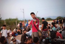 Syrian rock musicians on unexpected 'exile tour' through Europe